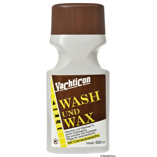 Detergente e lucidatore YACHTICON Wash and Wax 65.102.40 20,90€