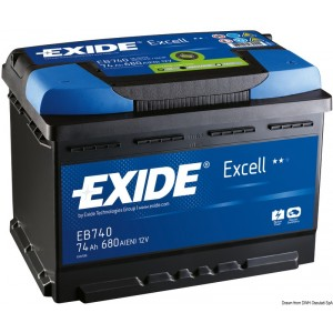 Batteria Excell 50 Ah 12.403.01 109,50€